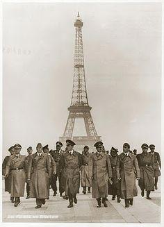 Hitler after the fall of Paris - 1940