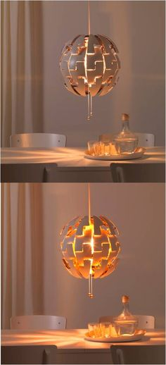 ikea ps 2014 pendant lamp white copper color led red. Black Bedroom Furniture Sets. Home Design Ideas
