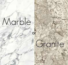 Granite and marble are materials that come directly from the earth. Although marble and granite have similarities, they also have significant differences. When choosing countertops for your kitchen or bathroom, granite and marble surfaces are popular choices. Italian Marble, Granite, Countertops, Choices, Surface, Earth, Popular, Bathroom, Kitchen