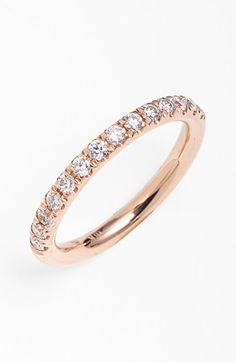 Bony+Levy+Stackable+Diamond+Band+Ring+(Nordstrom+Exclusive)+available+at+#Nordstrom