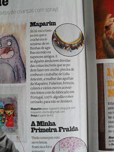 Press: Revista Sábado - Tentações | Maparim