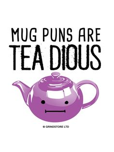 Mug Puns Are Teadiuos Mug - Buy Online at Grindstore.com