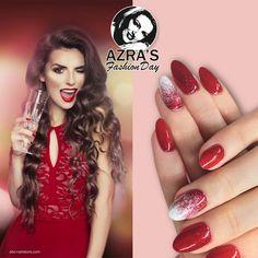 "Azra's Fashion Day: be my valentine! Nailart ""date night"" #nails #nailart #abcnailstore #naildesign"