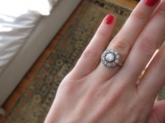 Art Deco Vintage Engagement Ring....now how do I get it???