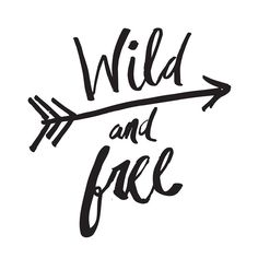 Quadro - Wild and Free Arrow - Decohouse
