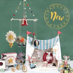 New in store circus with three mice Peter Rabbit Nursery, Circus Party, Sewing Toys, Craft Activities For Kids, Childrens Party, Diy Dollhouse, Diy Gifts, Vintage Christmas, Gifts For Kids