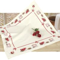 Coffee and Tea Tablecloth The Stitchery