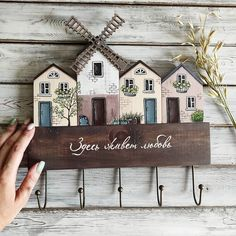 Miniature Crafts, Miniature Houses, Primitive Mantels, Tree House Drawing, Wooden House Decoration, Home Crafts, Diy Home Decor, Diy Wooden Projects, Driftwood Wall Art