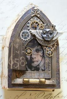 Saimba: Inkurable Stampers Guest Artist- Gothic Arch-Steampunk