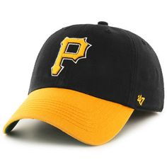 Pittsburgh Pirates '47 Home Batting Practice Franchise Fitted Hat - Black/Gold
