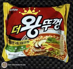 The Ramen Rater reviews a South Korean variety by Paldo called King Lid - at least I think that's what it is called - tough translation South Korean Food, Korean Street Food, Ramen Noodle Soup, Ramen Noodles, Kimchi Recipe, Korean Dessert, Food Photography Tips, Noodle Recipes, Dessert Recipes