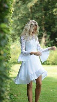 Confirmation Dresses, Little White Dresses, Wedding Ideas, Outfits, Clothes, Fashion, Vestidos, Weddings, Dress