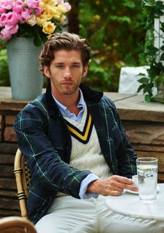 An updated take on a preppy classic, this cricket sweater is cable-knit from a soft cotton-and-cashmere blend and accented with bold stripes. Pair the V-neck style with a crisp oxford shirt and an embroidered chino short for a handsome look.