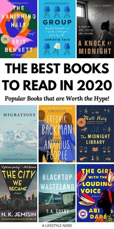 The Best Books to Read in 2020 - Popular Books that are Worth the Hype! Top 2020 book releases for women to read. Top popular and bestselling books to read at least once in your life! Top inspirational and life-changing books for women to read in 2020. Top book club books that are perfect for your reading list. Must-read 2020 book list: Best book recommendations to read in 2020. New York Times bestselling books of 2020. International bestselling books of the year. #bookstoread #book… Best Book Club Books, Top Books To Read, Best Books Of All Time, Life Changing Books, World Of Books, Popular Books, What To Read, Book Of Life, Book Recommendations