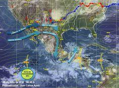 Onda tropical 14, provocará lluvias fuertes en México