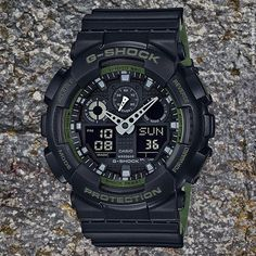 New Arrival: G-Shock Military Fashion Inspired Line Model No. GA100L-1A