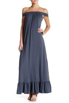 Hazel Off-The-Shoulder Maxi Dress by C & C California on @nordstrom_rack