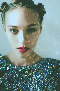 A little glitter.