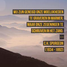 Moeilijkheden en zegeningen - C.H. Spurgeon (1834 – 1892)