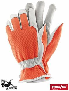 Rękawice ochronne RDRIVER ze koziej skóry