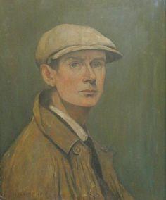 Ένα έργο από τον Άγγλο συγγραφέα L.S. Lowry το οποίο απεικονίζει τον ίδιο του τον εαυτό ο οποίος γεννήθηκε στις 1 Νοεμβρίου του 1887 στη Stretfortd και πέθανε στις 23 Φεβρουαρίου το 1976 (88 χρονών). Σπούδασε στο Manchester Municipal College και στο Salford Technical College. Και επίσης κέρδισε τα βραβεία Freedom of the City of Salford, Honorary Master of Arts και Honorary Doctor of Letters.Τον πίνακα τον έφτιαξε το 1925.