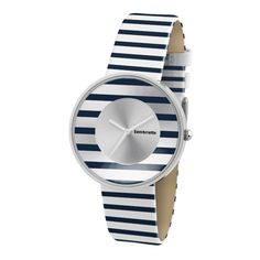 www.hogiesonline.co.uk - LAMBRETTA CIELO WHITE WITH NAVY BLUE STRIPES LADIES LEATHER WATCH 2105 , £41.50 (http://www.hogiesonline.co.uk/have-one-to-sell-sell-it-yourself-details-about-lambretta-cielo-white-with-navy-blue-stripes-ladies-leather-watch-2105/)