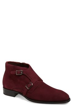 Mezlan 'Grenoble' Double Monk Strap Boot (Men) available at #Nordstrom