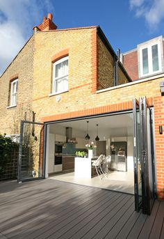 Amazing contemporary composite decking. for more visit our website :: www.ecodek.co.uk