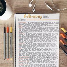 Imagem de school, study, and studyblr School Organization Notes, Study Organization, Life Hacks For School, School Study Tips, Revision Notes, Study Notes, Bullet Journal School, Bullet Journal Ideas Pages, Class Notes