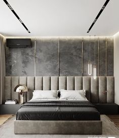 Small Bedroom Ideas - All the bedroom design ideas you'll ever require. Find your design and produce your desire bedroom plan whatever your spending plan, style or room dimension. Luxury Bedroom Design, Bedroom Bed Design, Home Decor Bedroom, Bedroom Ideas, Bedroom Designs, Interior Design, Budget Bedroom, Headboard Ideas, Bedroom Ceiling