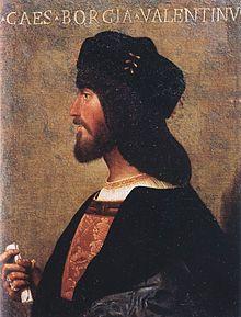 Cesare Borgia painting