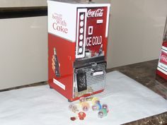 Vintage Toy Joy 5 Cent Gumball Candy Vending Machine