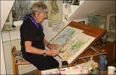 Faery paintings by Ann Mari Sjögren Fairy Land, Faeries, Illustrator, Ann, Painting, Fairies, Painting Art, Paintings, Painted Canvas