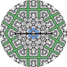 mandala a colorier numero 23 mandala coloriage adulte via dessin2mandalacom
