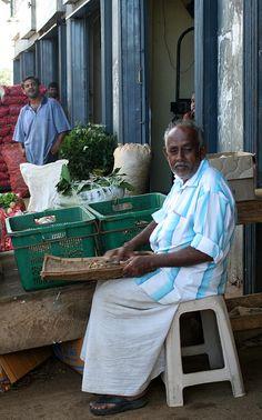 Nuwara Eliya District - Sri Lanka - Vegetable Market