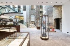 Asprey flagship store by gpstuio, London store design