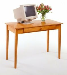 Metro Studio Writing Desk by TDM. $165.76. Some assembly may be required. Please see product details.. A beautiful blend of traditional Shaker design and modern use, the Metro Studio Writing Desk will be a great addition to your home office. Its spacious working surface even lets you keep your computer on the desktop while its pull-out tray holds your keyboard. Practical and compact, this sturdy desk is made of durable beechwood and comes in an attractive honey...