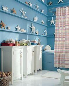 décoration salle de bain style marin
