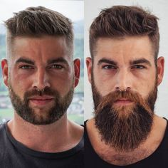 1 or Comment below. Can't deny long beards definitely give an edge, but we don't discriminate. products are made for all types of beards! Long Beard Styles, Hair And Beard Styles, Mens Hairstyles With Beard, Haircuts For Men, Winter Hairstyles, Medium Hairstyles, Messy Hairstyles, Pretty Hairstyles, Beard No Mustache