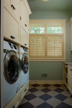 combo laundry/bathroom - put toilet against far wall, around corner