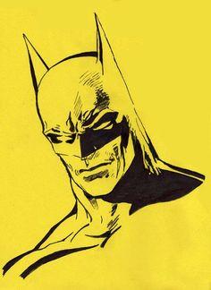 Stencils Of Batman Batman stencil by warholstein