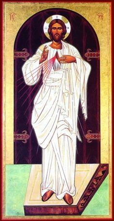 L'Icona di Gesù Misericordioso di Villa O Santissima, Trento   (autrice la Sig.ra Galdiolo Lia di Padova)