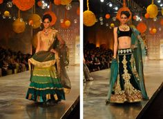 Manish_lehngas2 HDIL India Couture Week 2010 Photos