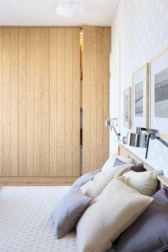 Sypialnia w stylu skandynawskim - Architektura, wnętrza, technologia, design…