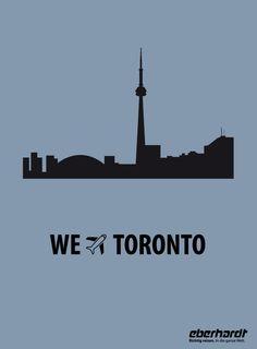 #Toronto #Kananda #Ontariosee #CN-Tower  http://www.eberhardt-travel.de/reise/fernreisen/usa/ostkueste-florida/us-ostfl
