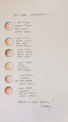 Color Pencil Drawing Tutorial My skin tones pallet with Faber Castell Polychromos pencils Colored Pencil Tutorial, Colored Pencil Techniques, Pencil Drawing Tutorials, Drawing Tips, Drawing Techniques, Drawing Art, Pencil Drawings, Drawing Ideas, Prismacolor