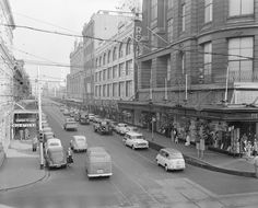 Prahran City Council, Streetscape, Victoria, 20 Jul 1959 Melbourne Street, Australian Continent, Melbourne Victoria, St Kilda, Largest Countries, City Council, Amazing Pics, Back In Time, Melbourne Australia