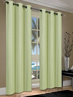 S.L.+Home+Fashions+Cameron+Linen+Blackout+Window+Panel+