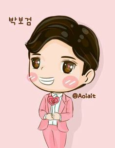 Bo Gum, Moonlight, Avatar, Chibi, Fanart, Candy, Park, Disney Characters, Fan Art