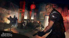 Shadowrun Hong Kong: Teahouse Shootout by CeruleanRaven